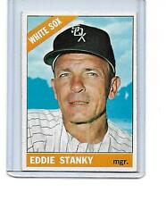 1966 TOPPS #448 EDDIE STANKY CHICAGO WHITE SOX NM CONDITION