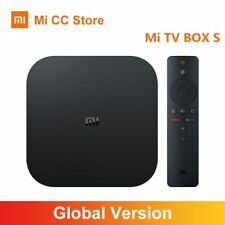 Mi TV Box S 4K Ultra HD Android TV 8.1 HDR 2G 8G WiFi Google cast Netflix
