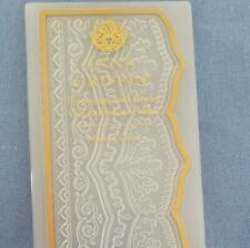 Anna Griffin Trimmings Leaf Border 3D Cut and Emboss Folders