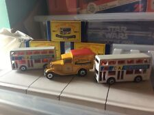 three rare matchbox series collectables