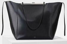 CELINE Smooth Black Calfskin Shoulder HAND BAG $2800