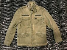 Diesel jeans army jacket coat olive drab military green S