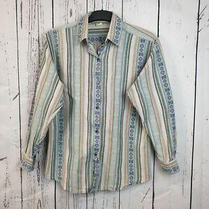 Vintage 1980s Ladies Baja Festival Shirt | Size 38/40 | Hippie