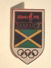 Atlanta 1996 Olympics JAMAICA dated National Olympic Committee (NOC) PIN Badge