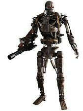 New Hot Toys Movie Masterpiece Terminator 4 T-600 1/6 Scale From Japan