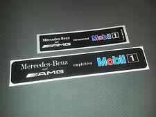 2 Aufkleber / sticker Mercedes-Benz AMG Mobil1 W124 W202 W208 W203 W210 R129