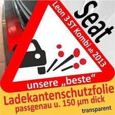 SEAT LEON 3 pezzi FAMILIARE protezione vernice del Bordo Pellicola AUTO