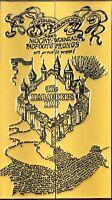 Harry Potter Karte des Herumtreibers - exklusive Sammler Collectors Edition neu