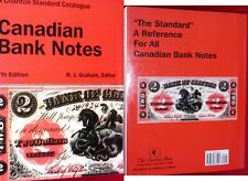 The Charlton Standard Catalogue of CANADIAN CHARTERED BANKNOTES +  storage bag