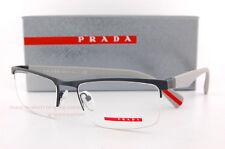 Brand New Prada Sport Linea Rossa Eyeglass Frames PS 52FV TFZ Matte Grey   Men