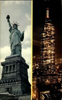 New York City USA Amerika 1967 The Statue of Liberty brilliant electrical Torch