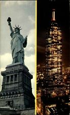 NEW York City USA America 1967 the Statue of Liberty Brilliant Electrical Torch