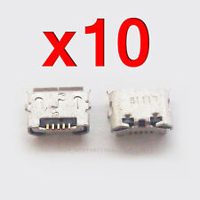 10X HTC EVO Shift 4G | EVO 4G Micro USB Charger Charging Ports Dock Connector