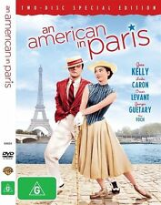 An American In Paris (DVD, 2009, 2-Disc Set) R4 Musicals DVD Brand NEW & Sealed