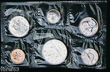 1985 Canada Prooflike PL set - 6 perfect coins no envelope/COA