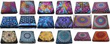 Wholesale Lots 25 Pcs Indian Peacock Mandala Floor Cushion Cover Home Decorative