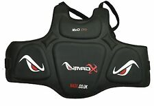 MADX Chest Protector Guard Karate Body Armour Protector KickBoxing Boxing MMA