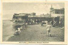 NETTUNO - STABILIMENTO BALNEARE MASSARELLI (ROMA) 1916