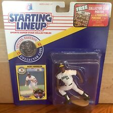 1991 Rickey Henderson Oakland As Starting Lineup in pkg w/ Baseball Card & Coin