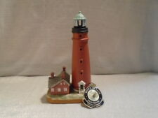 1994 Lefton Historic American Lighthouse Ponce De Leon Florida 01332