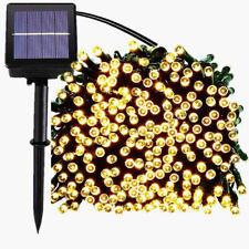 50/100/200 LED Outdoor Solar Powered Fairy String Light Garden Christmas Decors