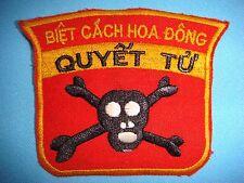 """VIETNAM WAR PATCH, RVN EXPLOITATION FORCE """" BIET CACH HOA DONG QUYET TU """""""