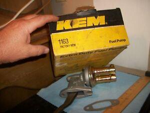 Kem 1163 Mechanical  Fuel Pump , Extra Duty Fuel Pump,Ford. Free USA Shipping!