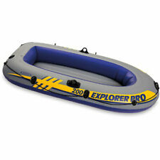 Intex Explorer Youth Inflatable Boat Raft (Oars/Pump Not Included)(Open Box)