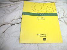 OMH84608 JOHN DEERE OWNERS OPERATORS MANUAL 244 343 CORN HEAD
