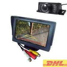 Video Rückfahrsystem für Wohnmobil mit Rückfahrkamera System Monitor 12V