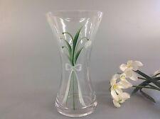 Hand Painted Posy Vase Snowdrop Design