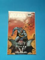 DCeased #1 Sajad Shah Planet Awesome Batman Color Variant DC Comics