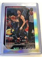 2018-19 Panini NBA Hoops Silver /199 #102 Kevin Love Cleveland Cavaliers Card