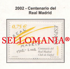 2002 REAL MADRID CENTENARIO CENTENARY FUTBOL FOOTBALL EDIFIL 3880 ** MNH TC22051