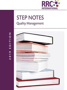 RRC STEP Note: Quality Management