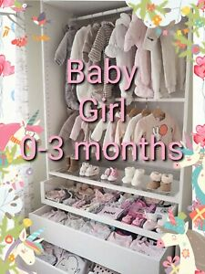 PART #2 Baby Girl Clothes Make Your Own Bundle Size 0-3 Months Dress Top Blouse