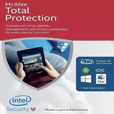 McAfee Total Protection | 1 Year | 3 Devices
