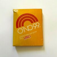 Vintage O'NO UNO 99 Card Game Family Night 1980 Sealed Unopened International