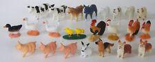 SAFARI LTD lot 23 FARMS ANIMALS chicks chickens roosters pigs cows bulls rams +