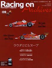 [BOOK] Racing on Archives vol.09 Niki Lauda Gilles Villeneuve Didier Pironi F1