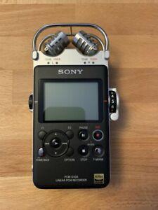 Sony PCM-D100 Mobiler Audio-Recorder - Schwarz, Topzustand