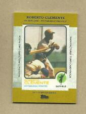 ROBERTO CLEMENTE 2013 TOPPS MANUFACTURED PATCH MCP-15
