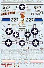Microscale Decals 1/48 North-American P-51D Mustangs # SS481184
