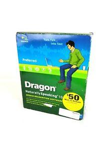 Nuance Dragon NaturallySpeaking 10 Preferred