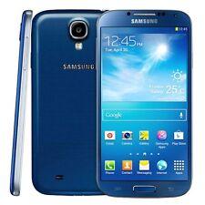 5'' Samsung Galaxy S4 GT-I9500 16GB 13MP GPS Débloqué Téléphone Portable Bleu