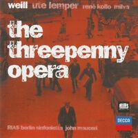 Weill – The Threepenny Opera - CD (2000) - NEW