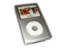 Claro Funda Carcasa Duro para Apple iPod Classic Case Cover + Clip de Cinturón