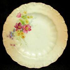 "Antique Royal Worcester Ivory Blush 8"" Salad Plate #1588, Rd No 190547"