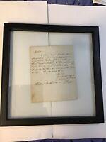 Original Historic Letter To Lord Bishop Of Durham John Egerton 1780 - Must See