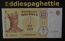 Moldova 1 Lei Leu 2015 UNC P-8
